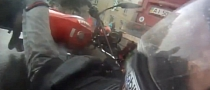 Watch and Learn: Unaware Rider Crashes Silly in the Rain [Video]