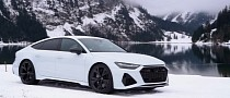 Watch Audi's 2021 RS7 Dance and Sing in the Winter Wonderland of Austria's Tyrol
