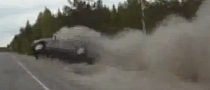 Watch Bald Tires and Bold Driving Flip a Car Over [Video]