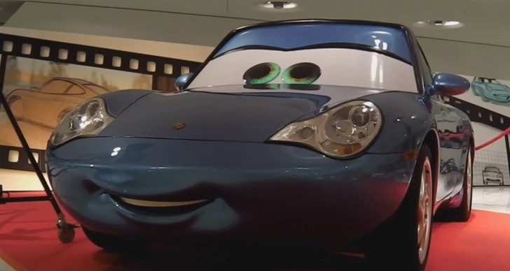 Watch Cars Sally Carrera 911 Being Displayed At The