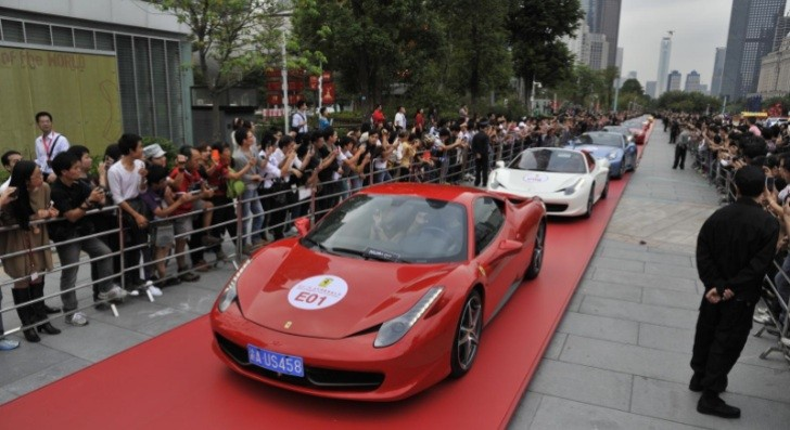 Watch: Ferrari Parade at 20th Anniversary in China [Video]