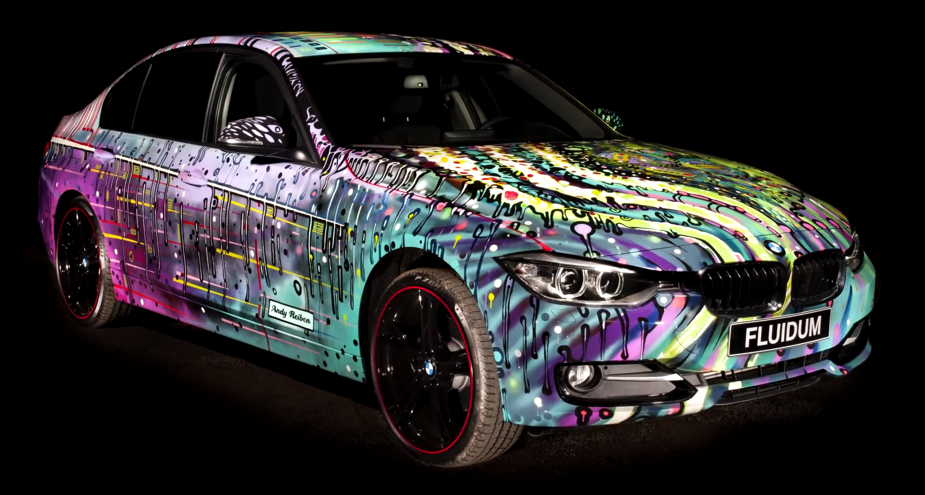 Where Are Bmw Made >> Watch How A Bmw Art Car Is Made Autoevolution