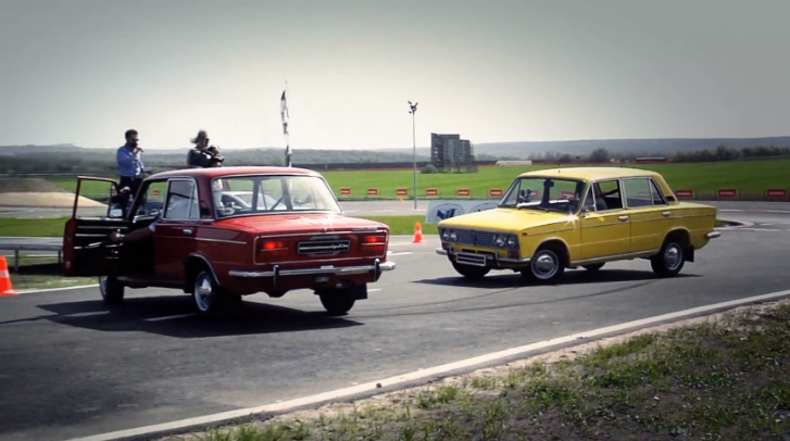Watch Jenson Button Handling a Lada [Video]
