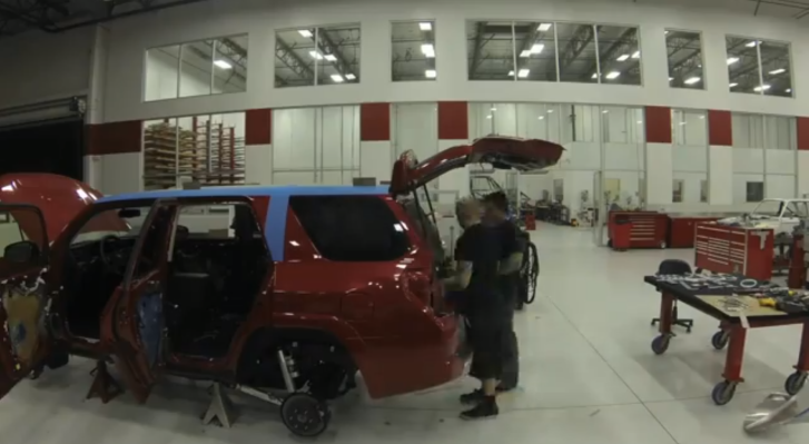 Watch Team Oakley's 4Runner Transformation [Video]