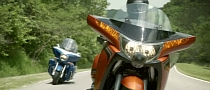 Watch the 2014 Victory Touring Bikes Commercial