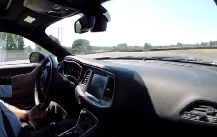 Watch the 2015 dodge challenger hellcat hit the track srt working on aftermarket parts