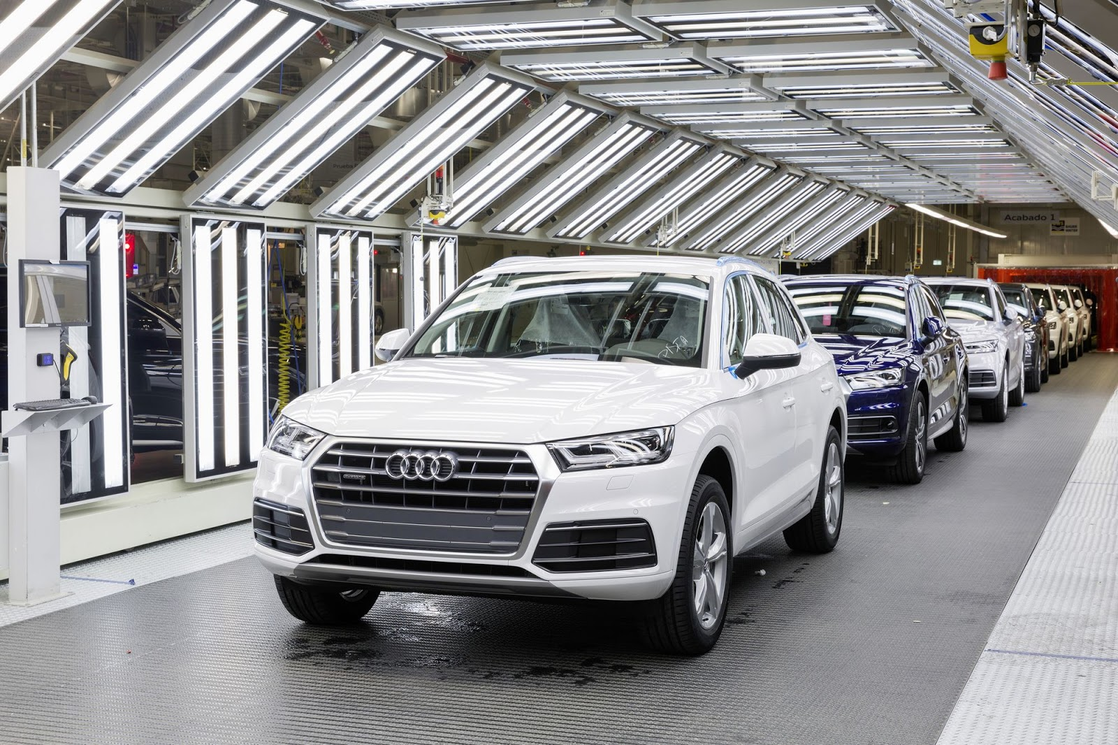 44 Photos 2017 Audi Q5 Production In Mexico