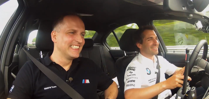 Watch the BMW M3 and M4 Being Tested on the 'Ring by 2 DTM Drivers [Video]