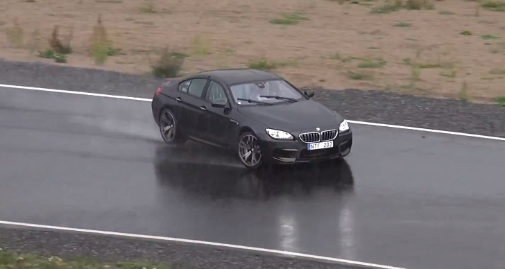 Watch the BMW M6 Gran Coupe Do Ballet on a Closed Track [Video]