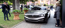 Watch the BMW Pininfarina Gran Lusso Coupe in Motion [Video]