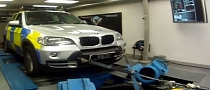 Watch the British Police Dyno their BMW X5 for Tuning [Video]