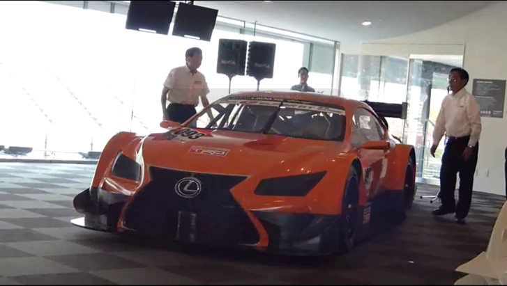 Watch the Lexus LF-CC-Based Super GT Series Racecar [Video]