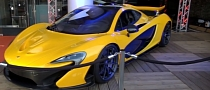 Watch the McLaren P1 Shine at McLaren's Premiere of Rush in London [Video]