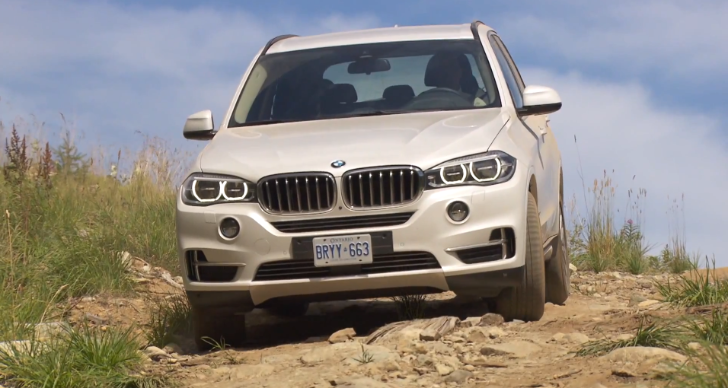 Watch the New BMW F15 X5 Go Off Road [Video]