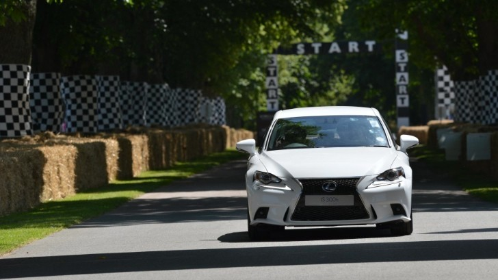 Watch the New Lexus IS in Action at Goodwood [Video] [Photo Gallery]