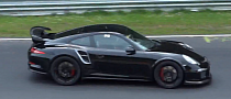 Watch the New Porsche 911 GT2 Testing at the 'Ring [Video]