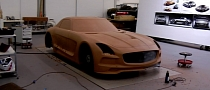 Watch the SLS AMG Black Series Come to Life in Clay! [Video]