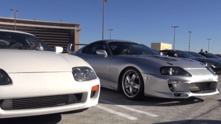 Watch the Third Annual Toyota Supra Gathering in Vegas [Video]