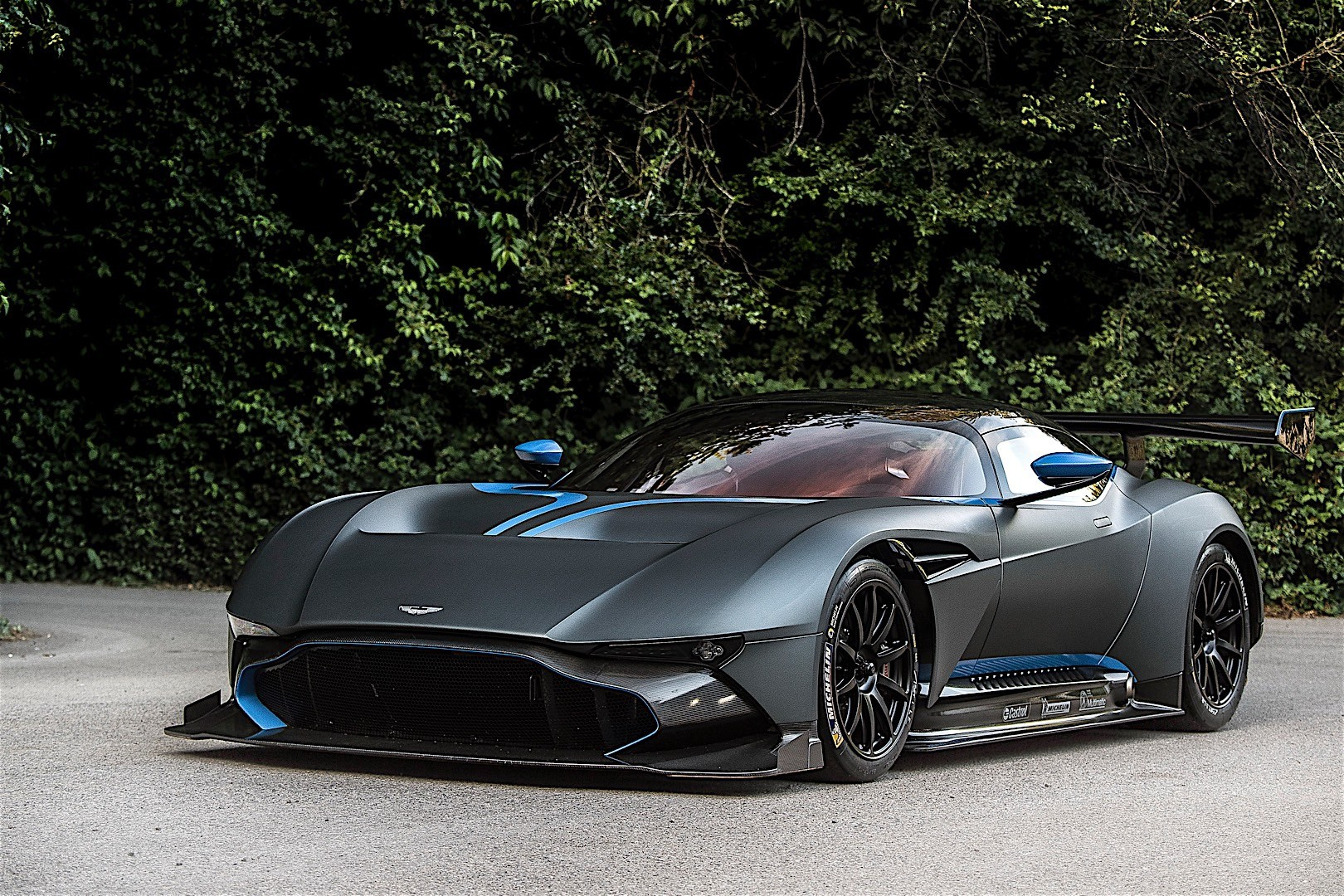 watch the world's first and only road-legal aston martin vulcan
