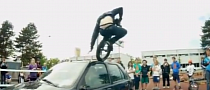 Watch This Unicyclist High-Jump an Old Fiesta [Video]