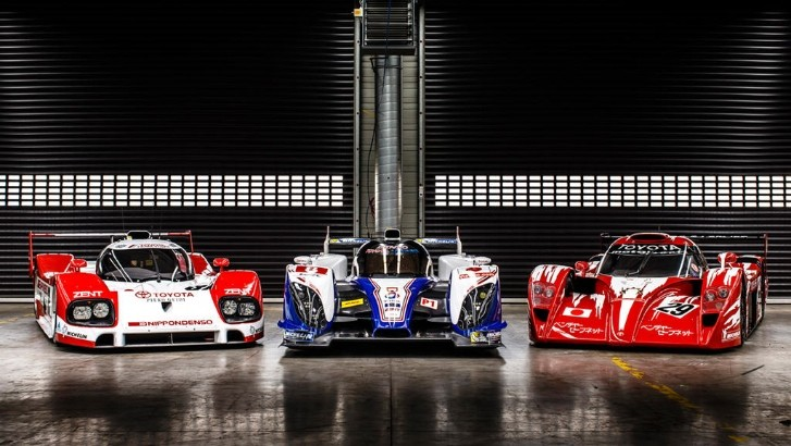 Three Generations Of Toyota Le Mans Racers Come Together