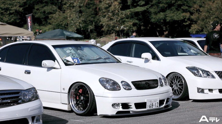 Watch Tons of Stanced Lexus and Toyotas At Hiroshima Carshow [Video]