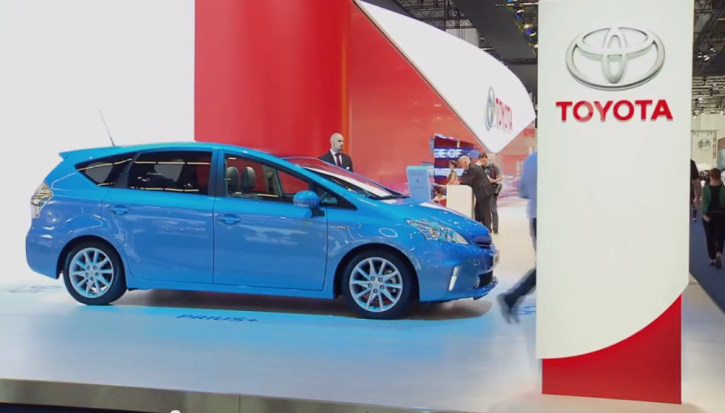 Watch Toyota's Hybrid Vehicles at Frankfurt Motor Show [Video]