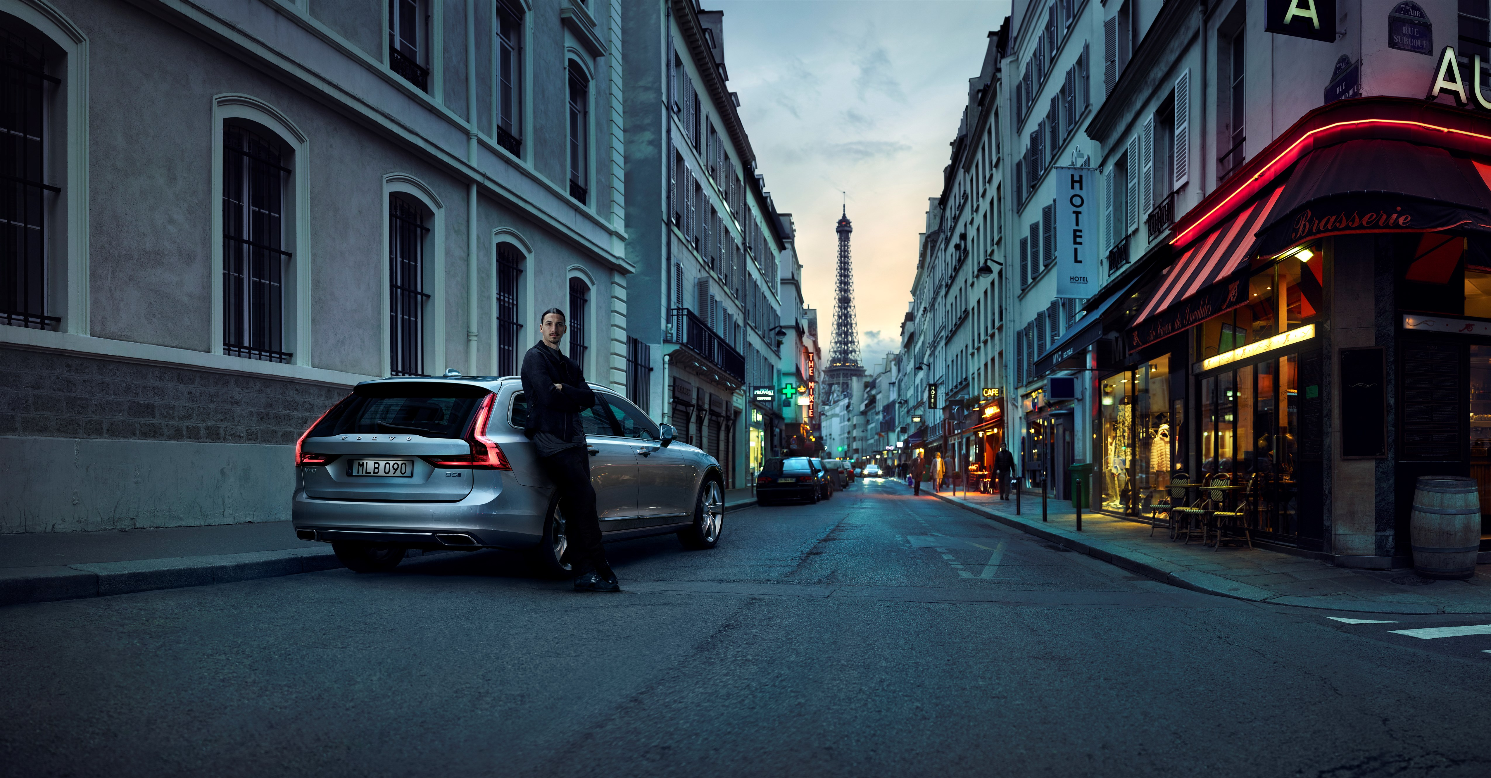 Watch Volvo's New V90 Ad Featuring Zlatan Ibrahimovic and Hans Zimmer's Music - autoevolution