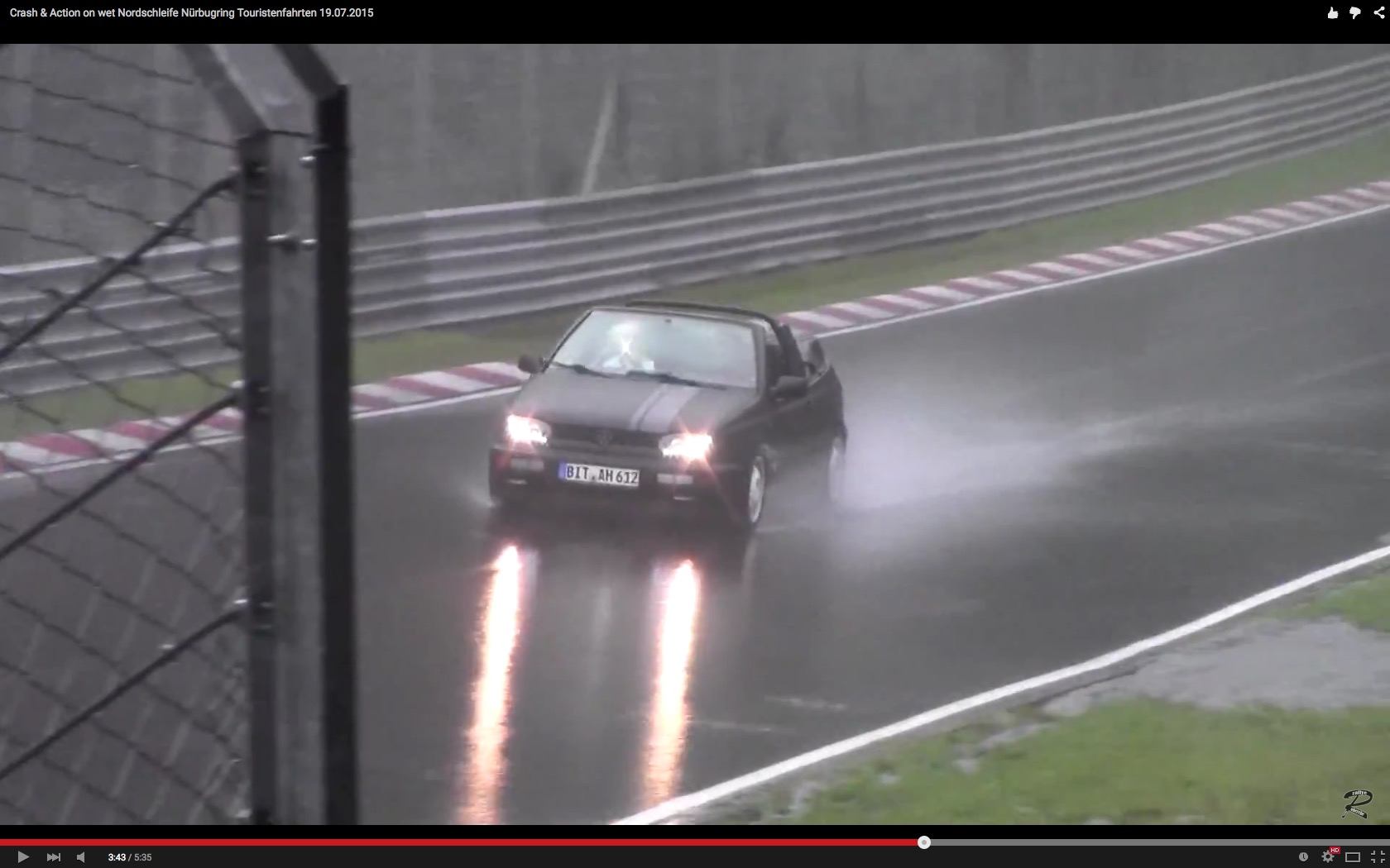 Watching Drivers Race and Crash their Cars on the Nurburgring Is a ...