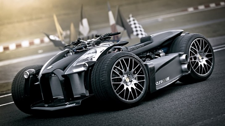 Wazuma V8F Matt Edition, a Ferrari Engine and Tons of Evil Attitude [Photo Gallery]