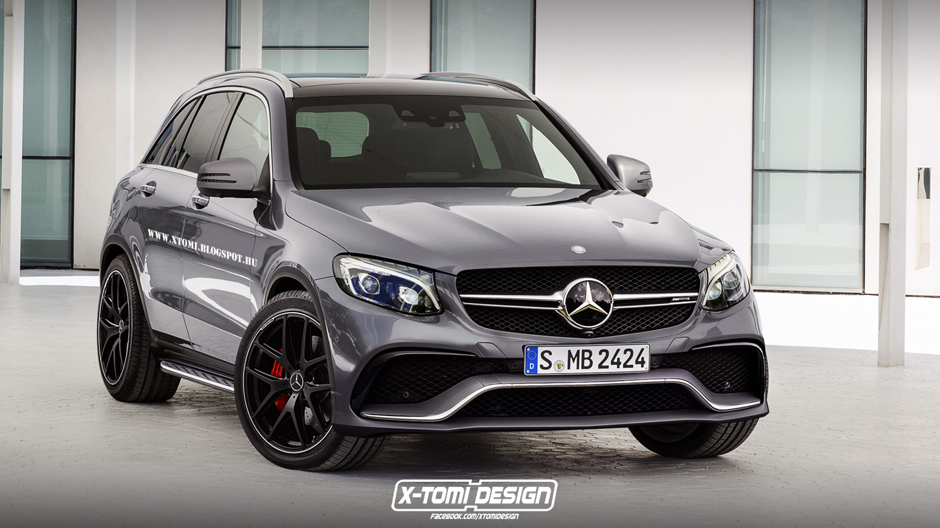 We Know You Secretly Want This Mercedes-Benz GLC 63 AMG to Become Reality - autoevolution