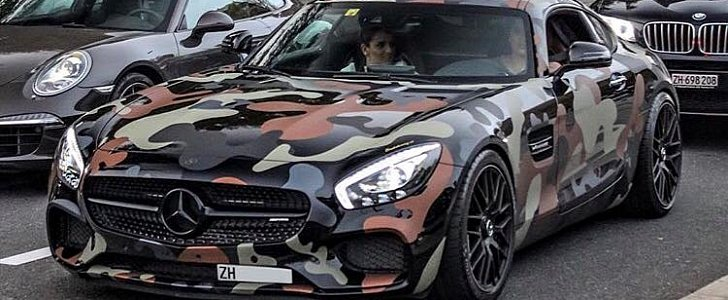 We Wish You Could See This Mercedes Amg Gt S With