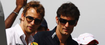 Webber: 2009 Title is Only Button's to Lose