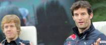 Webber Argues Vettel Rivalry Pushed Red Bull Forward