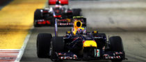Webber Close to Disaster in Singapore