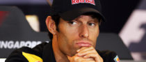Webber Said Injury Did Not Affect Him