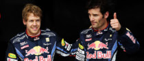 Webber Says Relationship with Vettel Is Good