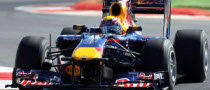 Webber Tops Second Practice in the British GP