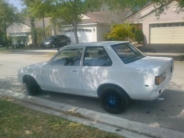 weekend project car for sale 1983 toyota corolla e 71 coupe autoevolution. Black Bedroom Furniture Sets. Home Design Ideas