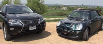 Weird Comparison: 2008 MINI Cooper S Convertible vs 2013 Lexus RX 450h [Video]