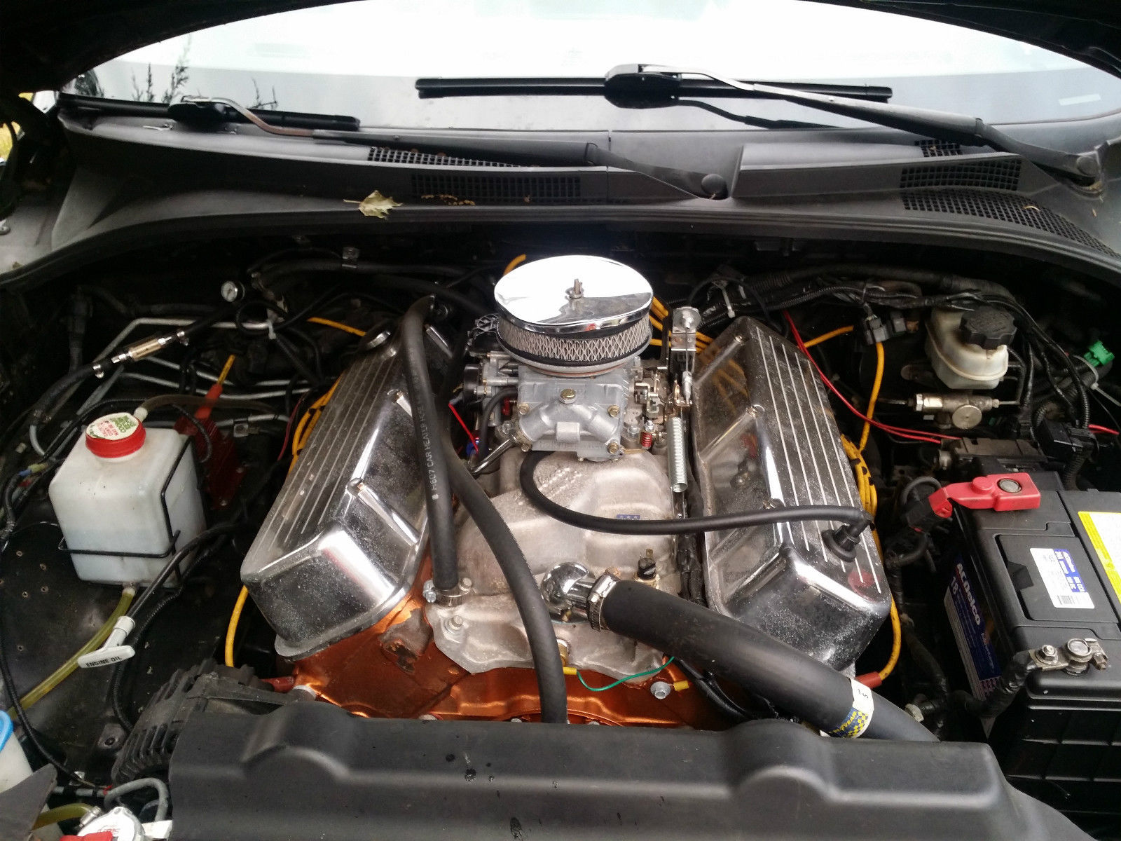 Weirdest Engine Swap Ever: Kia Sorento with Chevy 468 Big-Block V8