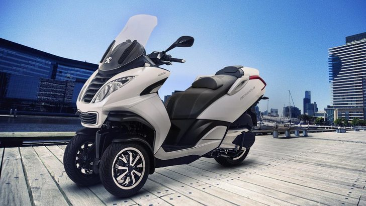 Welcome Peugeot Metropolis 3-wheel Scooter