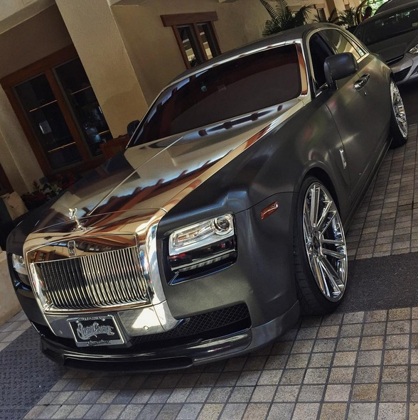 West Coast Customs Owner Drives This PimpedOut RollsRoyce Ghost - Pimped out cars
