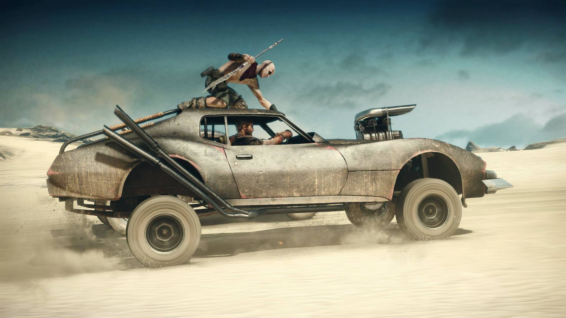 Mad Max Game Car Builds