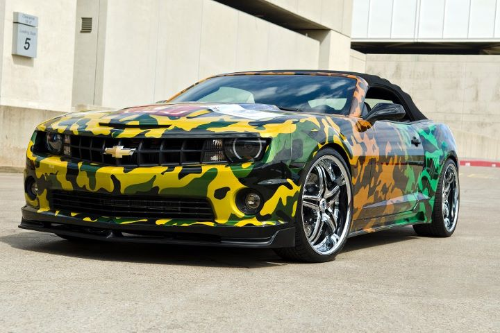 West Coast Customs Chevrolet Camaro Auctioned For Charity Autoevolution