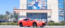 West Coast Customs: Matte Red Ferrari California on Asanti Wheels [Video]