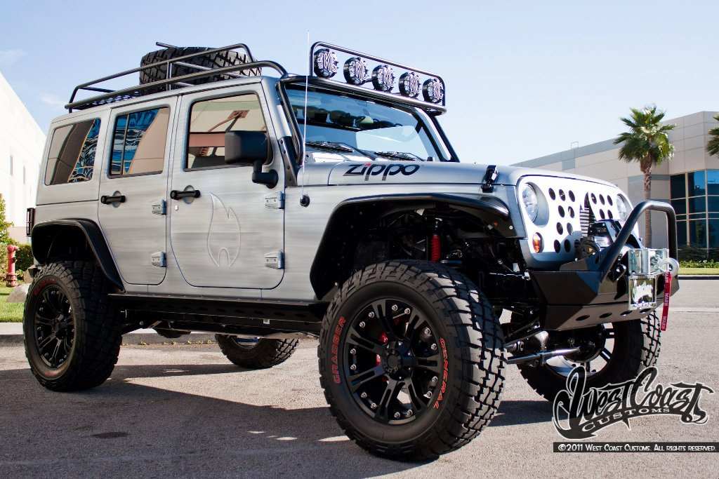 West Coast Customs Reveals Zippo Jeep At Watkings Glen