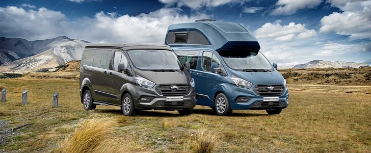 westfalia  ford join up to create 2019 transit custom nugget