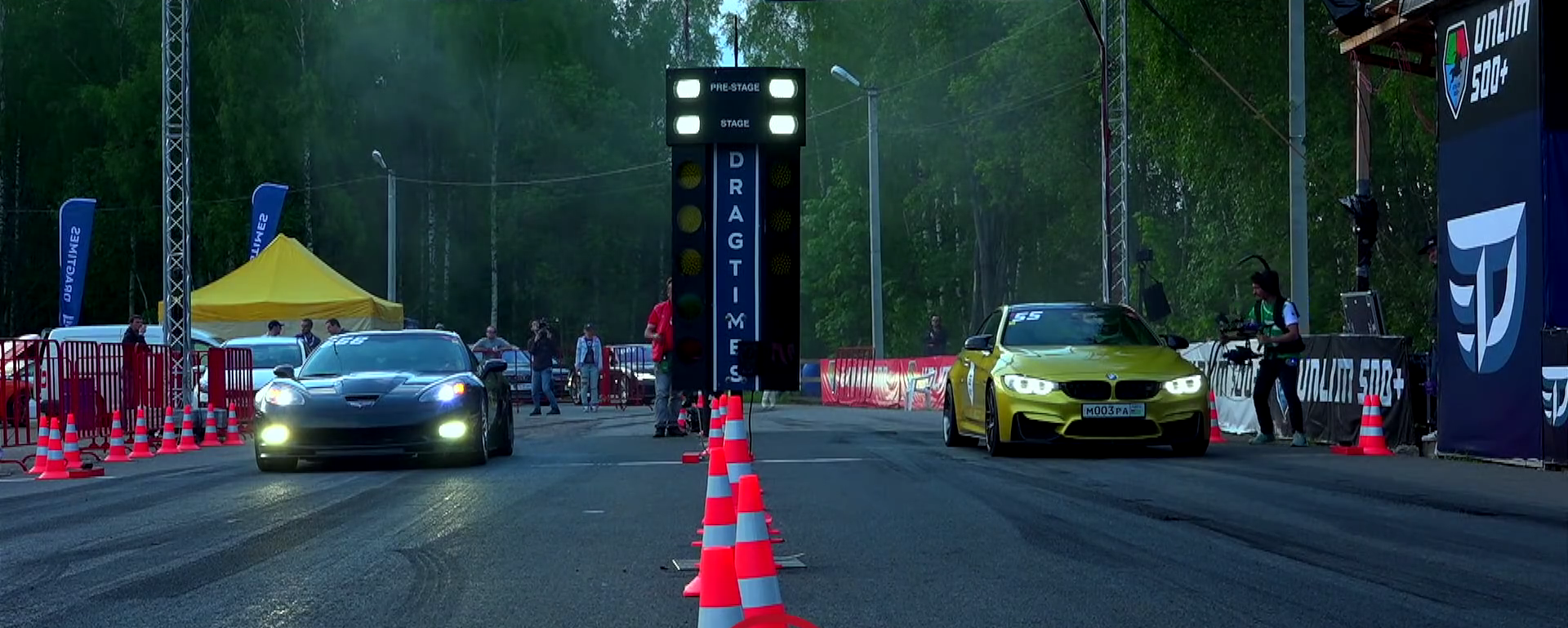 What Happens When A 550 Hp Bmw M4 Takes On A 720 Hp Corvette Zr1