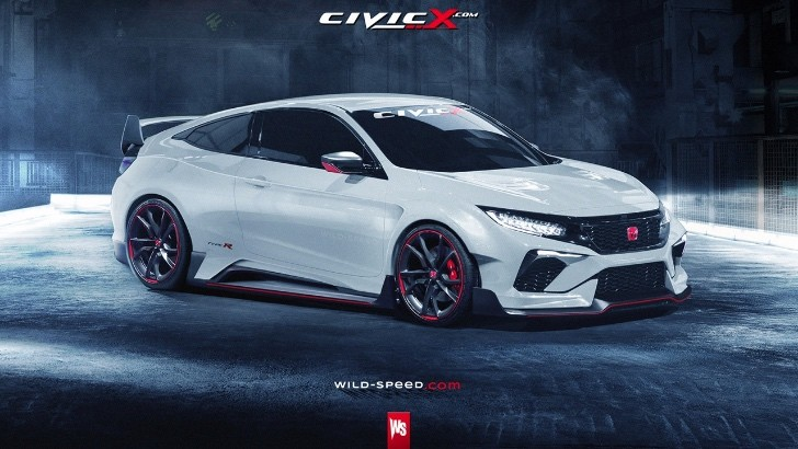 what if the 2017 honda civic in type r guise looked like. Black Bedroom Furniture Sets. Home Design Ideas